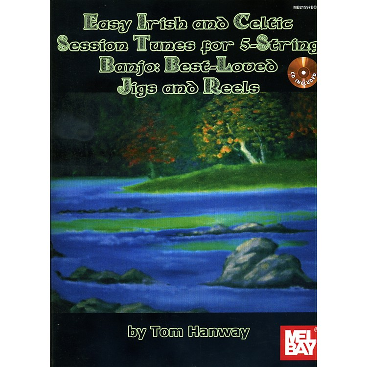 Mel Bay Easy Irish and Celtic Tunes for 5-String Banjo Book/CD Set