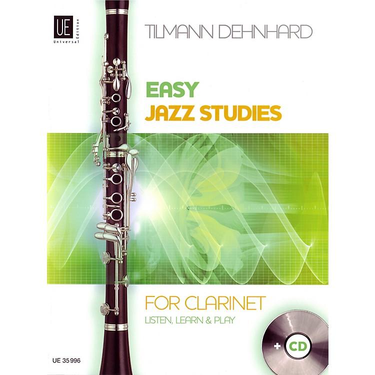 Carl FischerEasy Jazz Studies For Clarinet Book