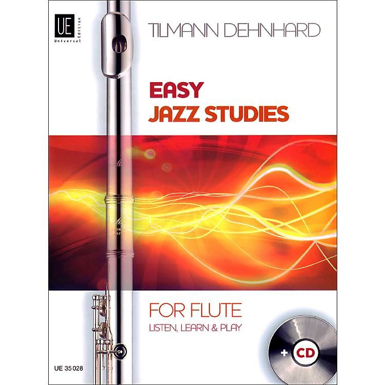 Theodore Presser Easy Jazz Studies For Flute (Book/CD)