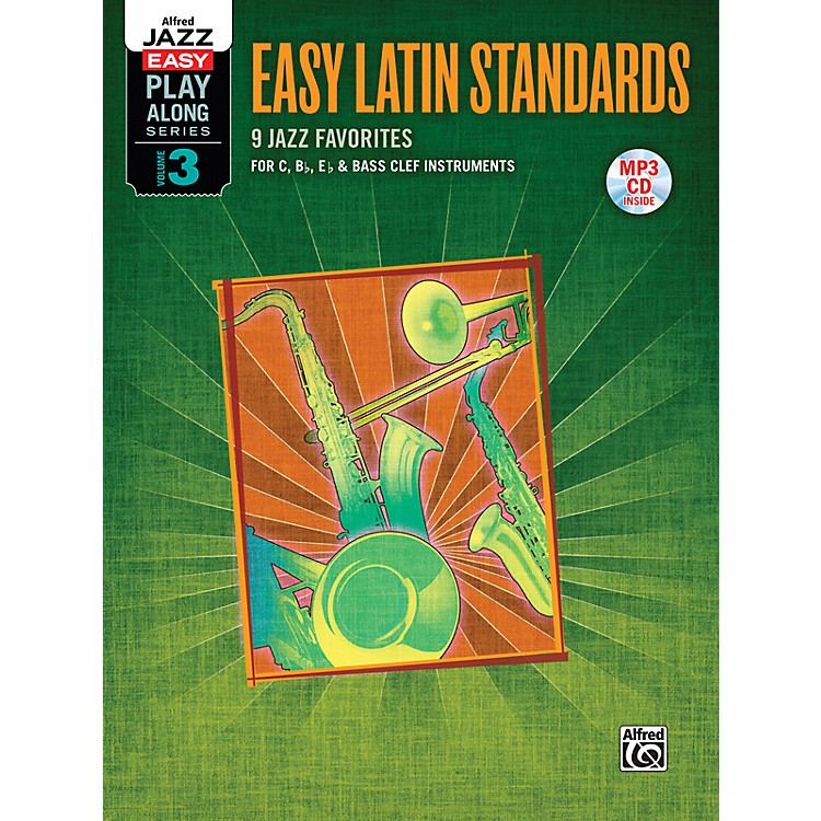 Alfred Easy Latin Standards Flexible Instrumentation Book & CD