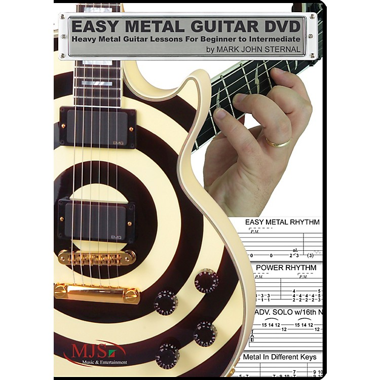 MJS Music PublicationsEasy Metal Guitar (DVD)