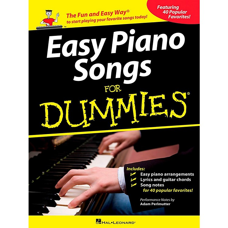 Hal Leonard Easy Piano Songs For Dummies