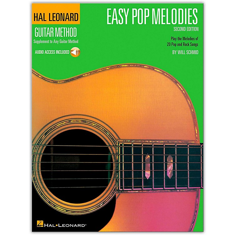 Hal LeonardEasy Pop Melodies - 2nd Edition Guitar Tab Songbook with CD