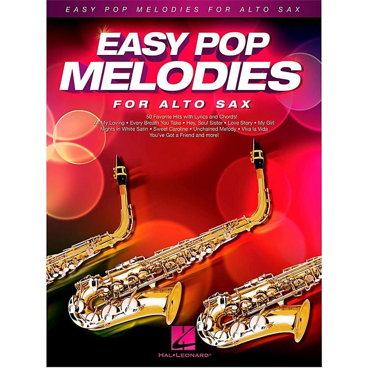 Hal LeonardEasy Pop Melodies For Alto Sax