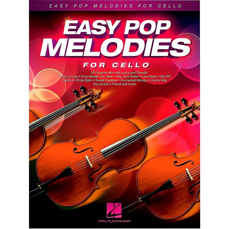 Hal LeonardEasy Pop Melodies For Cello