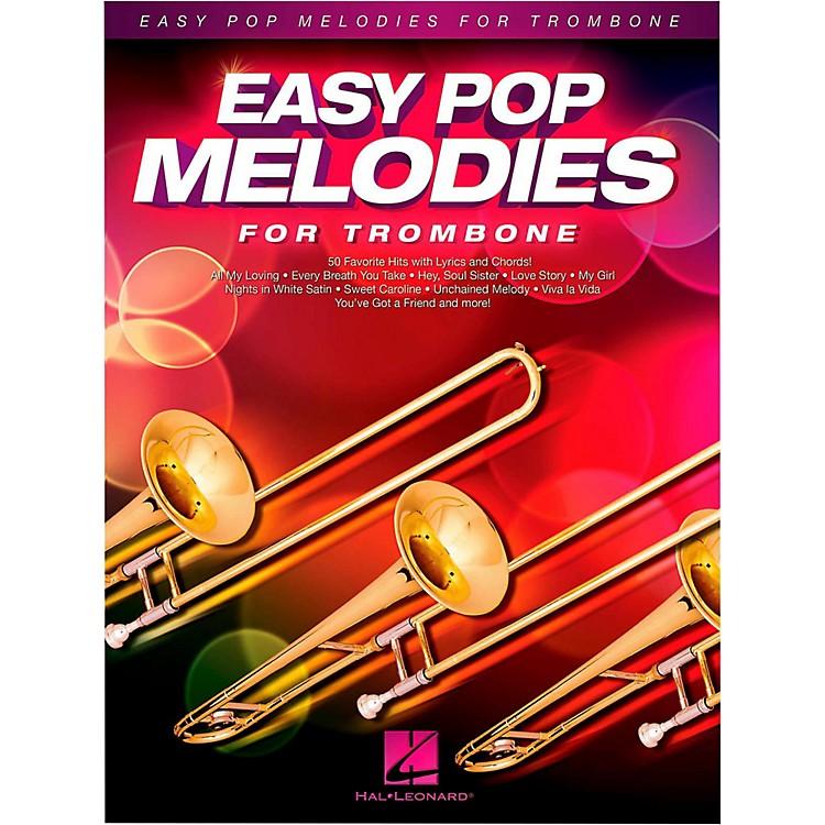 Hal LeonardEasy Pop Melodies For Trombone