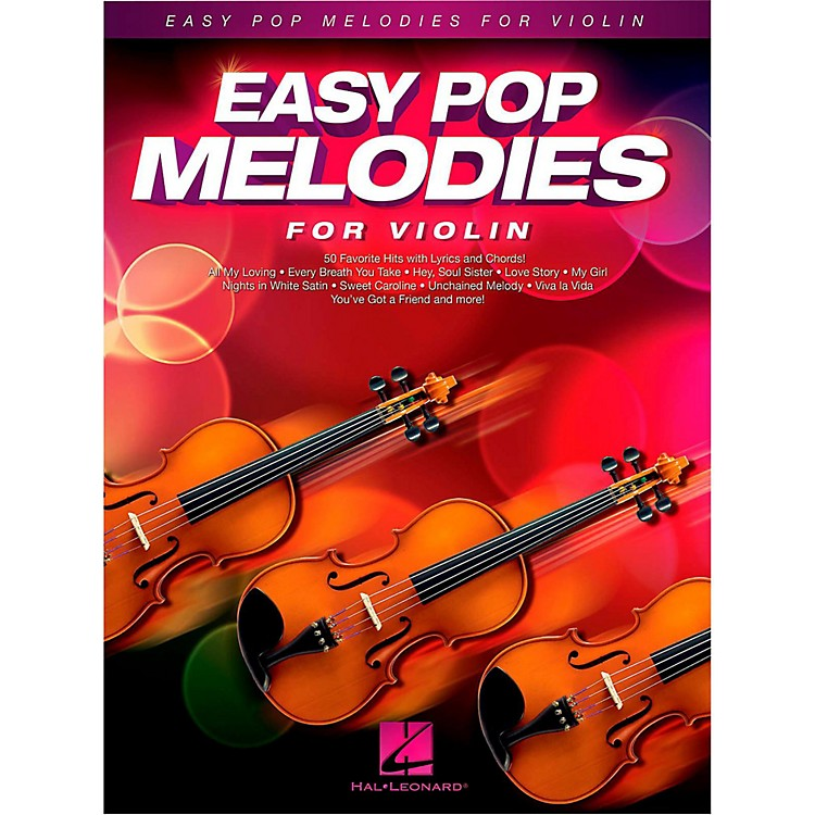 Hal LeonardEasy Pop Melodies For Violin