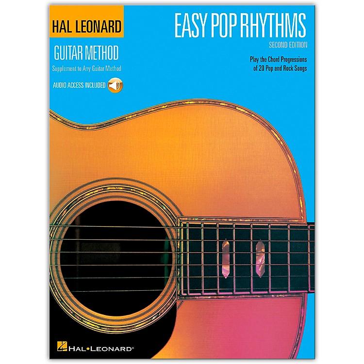 Hal LeonardEasy Pop Rhythms 2nd Edition Book with CD