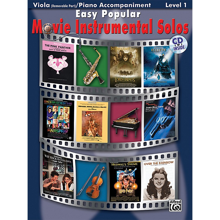 Alfred Easy Popular Movie Instrumental Solos