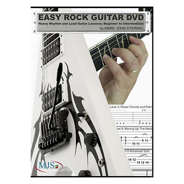MJS Music PublicationsEasy Rock Guitar DVD: Heavy Rhythm and Lead Guitar Lessons: Beginner to Intermediate