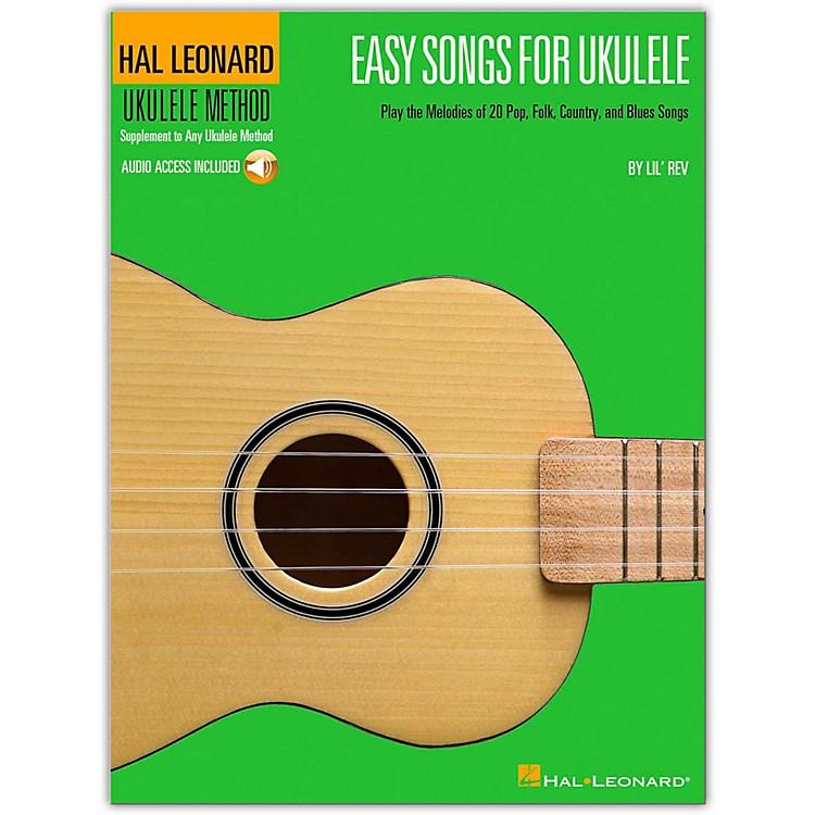 Hal LeonardEasy Songs for Ukulele Book/CD - Supplementary To The Hal Leonard Ukulele Method