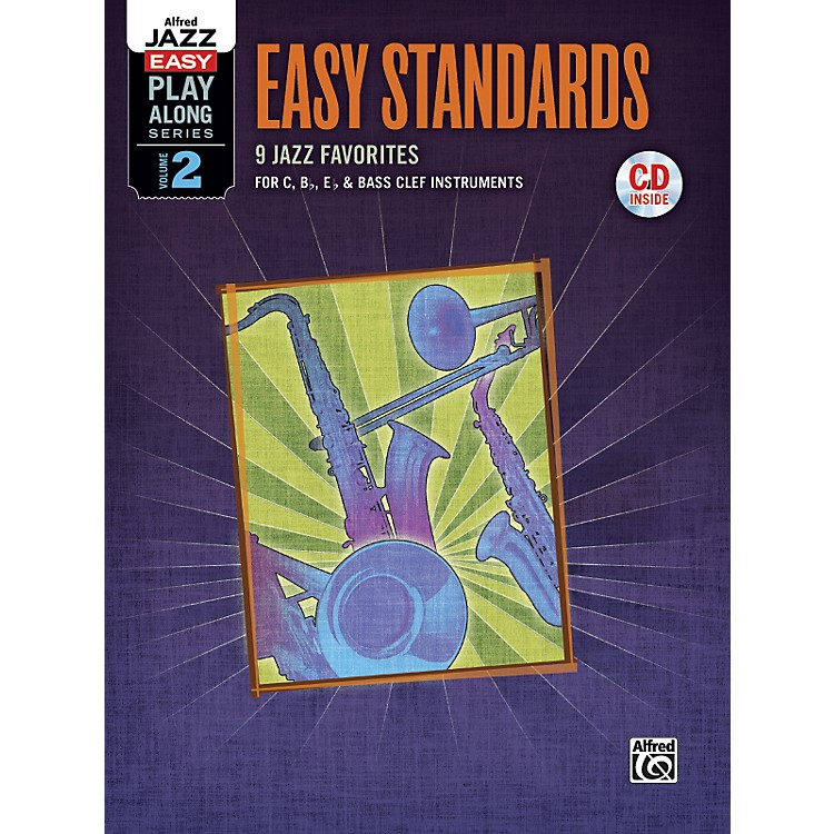 Alfred Easy Standards 2 Flexible Instrumentation Book & CD