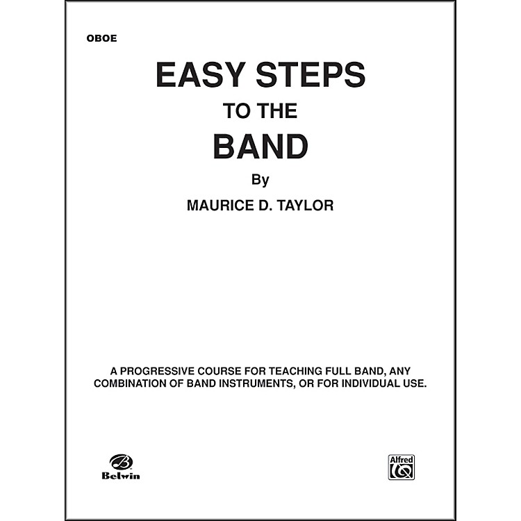 Alfred Easy Steps to the Band Oboe