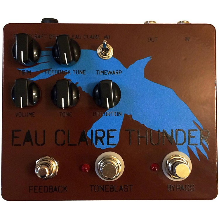 DwarfcraftEau Claire Thunder Fuzz Guitar Effects Pedal