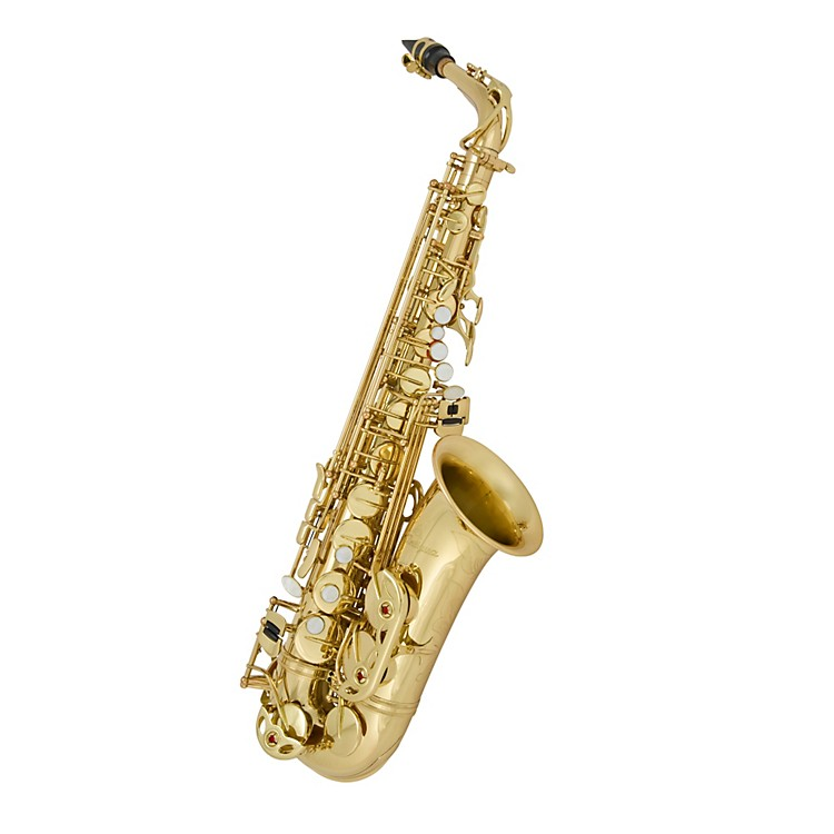 Antigua Winds Eb Alto Saxophone Black nickel plated body Lacquered keys