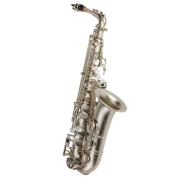 Antigua WindsEb Alto SaxophoneClassic Nickel Finish