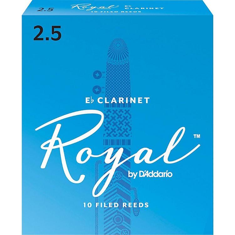 Rico RoyalEb Clarinet Reeds, Box of 10Strength 2.5