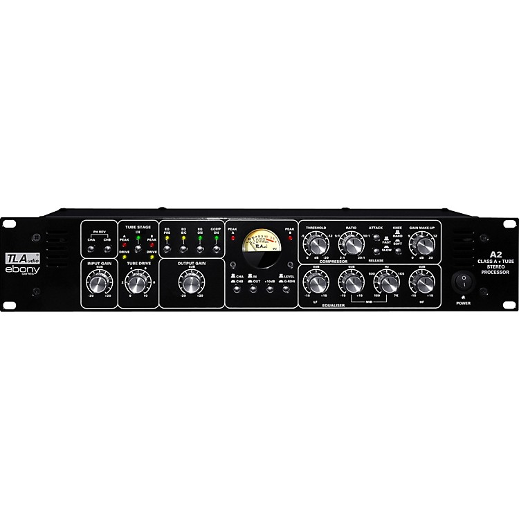 TL Audio Ebony A2 Tube Stereo Processor