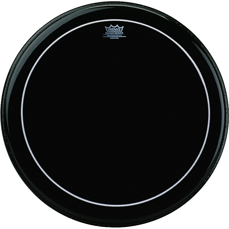 Remo Ebony Pinstripe Tom Head  8 in.