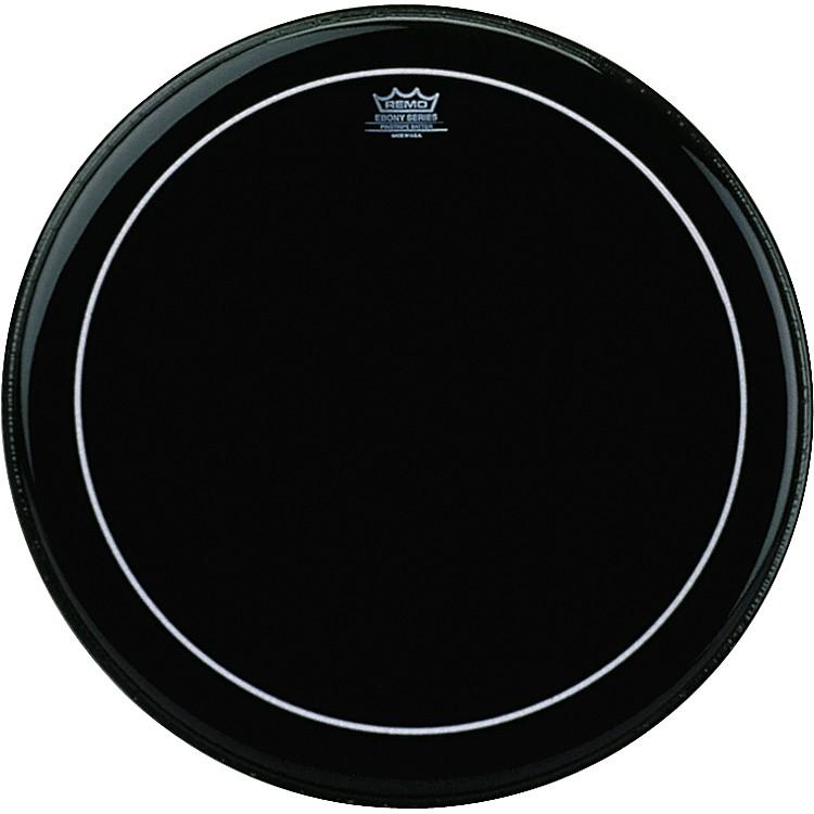 RemoEbony Series Pinstripe Bass Drumhead26 in.
