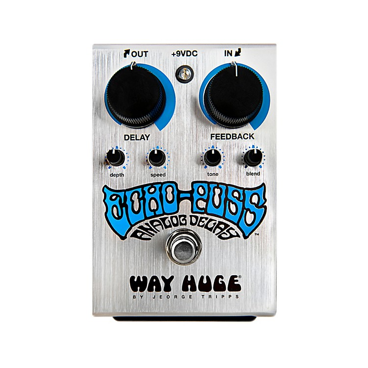 Way Huge ElectronicsEcho Puss Standard Delay Guitar Effects Pedal