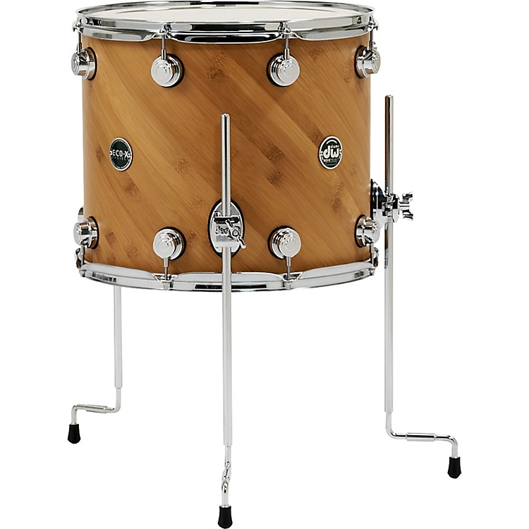 DW Eco-X Floor Tom Ebony 16 x 14 in.