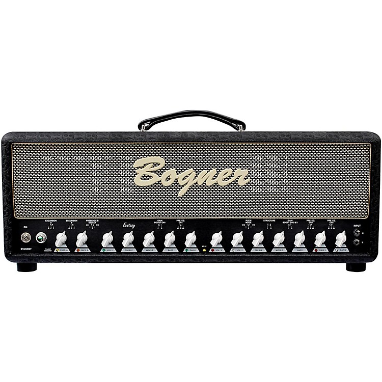 Bogner Ecstasy 101B 100W Tube Guitar Amp Head with EL34s Black