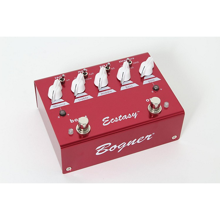 Bogner Ecstasy Red Overdrive/Boost Guitar Effects Pedal  888365856087