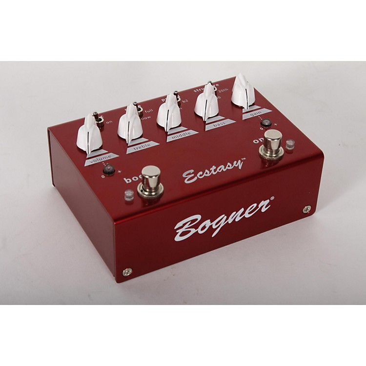 BognerEcstasy Red Overdrive/Boost Guitar Effects Pedal888365901770