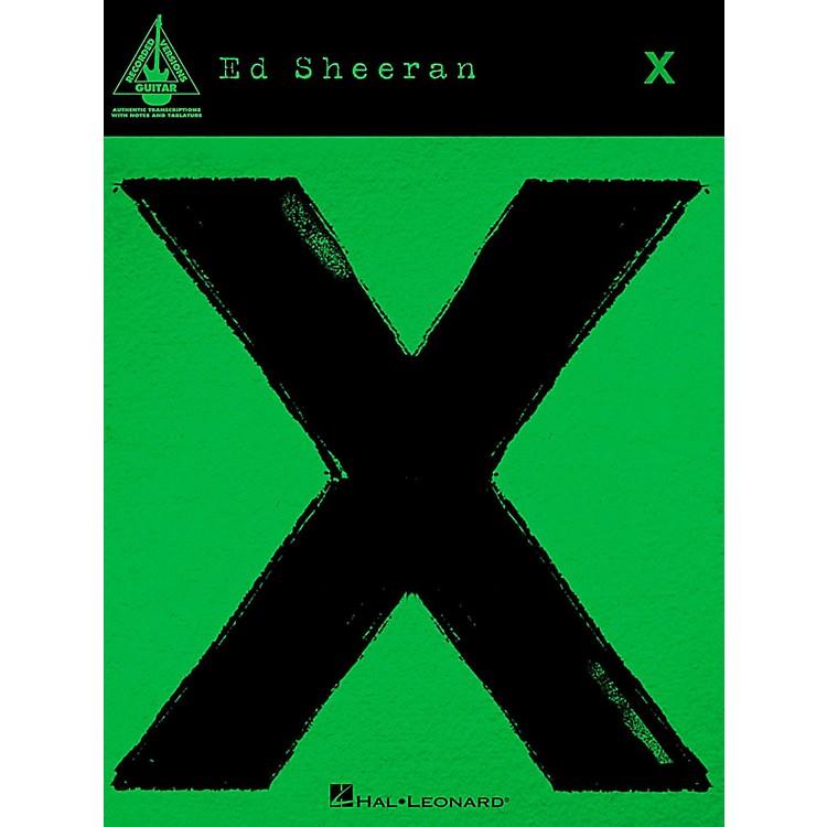 Hal LeonardEd Sheeran - X for Guitar Tab