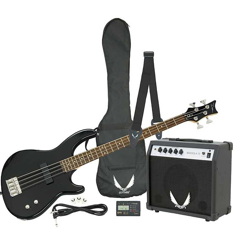 Dean Edge 09 Bass and Amp Pack Black