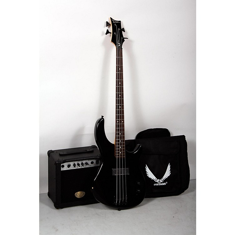 Dean Edge 09 Bass and Amp Pack Black 888365906485