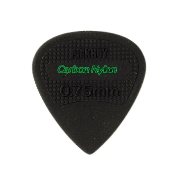 Pick BoyEdge, Sharp Tip, Carbon/Nylon Guitar Picks (10-pack).75 mm