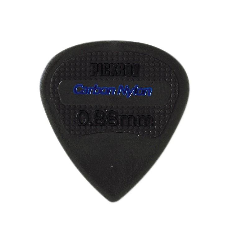 Pick BoyEdge, Sharp Tip, Carbon/Nylon Guitar Picks (10-pack).88 mm
