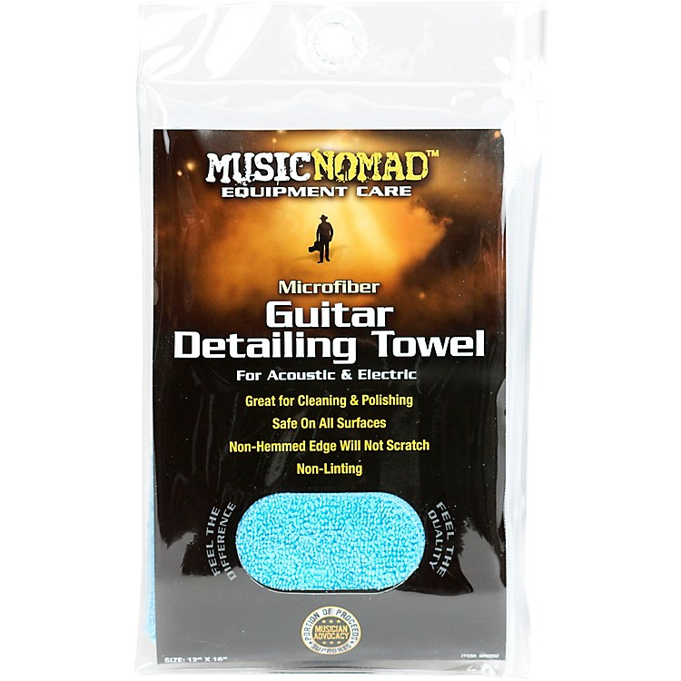 Music NomadEdgeless Microfiber Guitar Detailing Towel