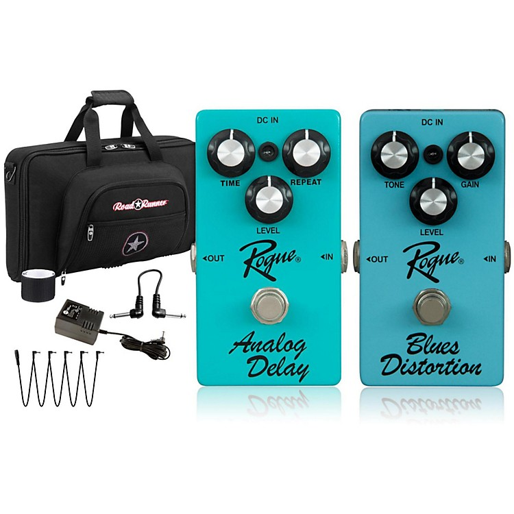RogueEffects Pedal PackDELAY and BLUES DISTORTION