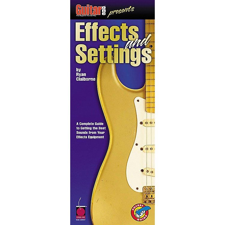 Cherry LaneEffects and Settings Book