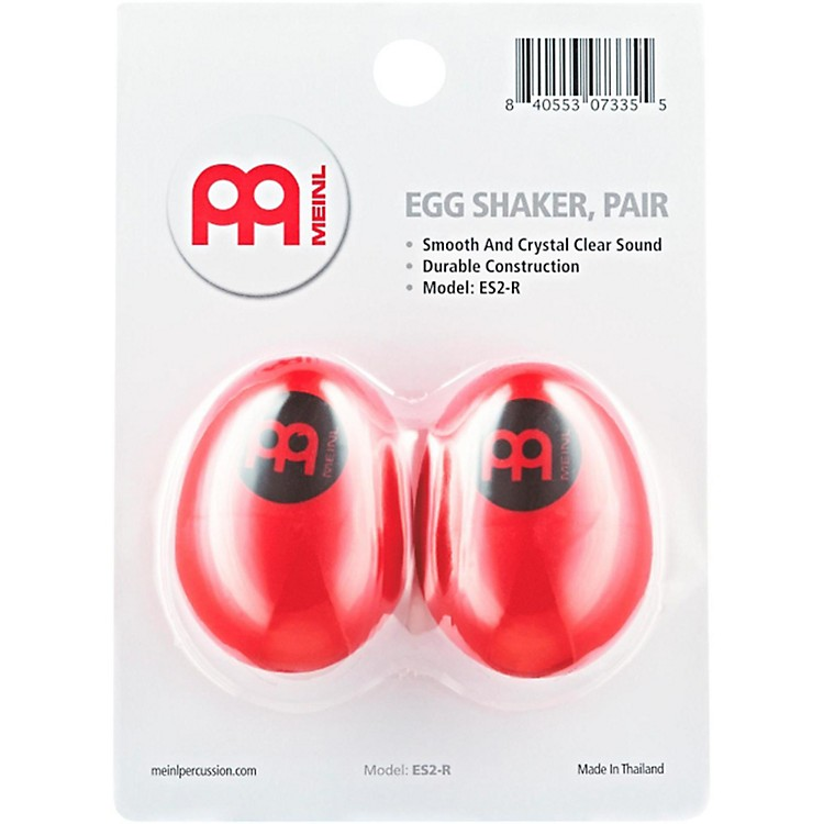 Nino Egg Shaker (Pair) Red