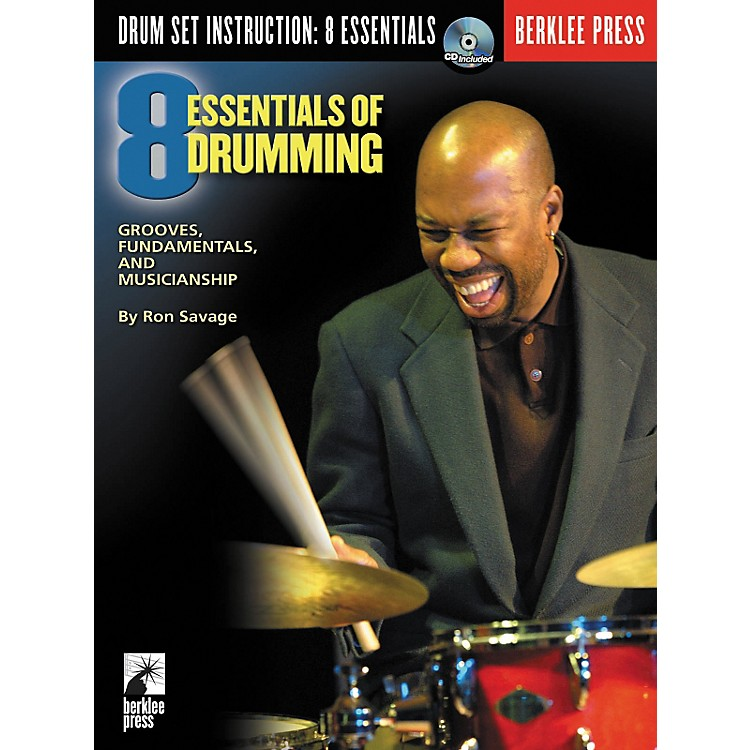 Berklee Press Eight Essentials of Drumming (Book/CD)