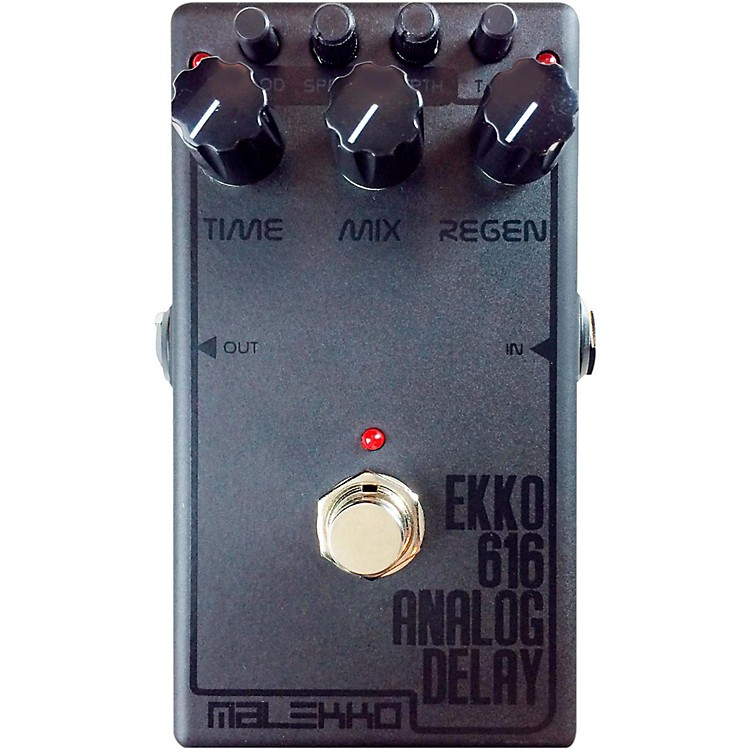 Malekko Heavy Industry Ekko 616 MKII Dark Analog Delay Guitar Effects Pedal