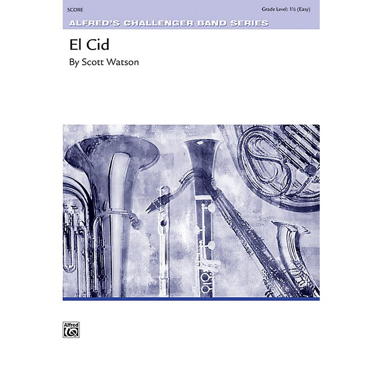 AlfredEl Cid Concert Band Grade 1.5 Set
