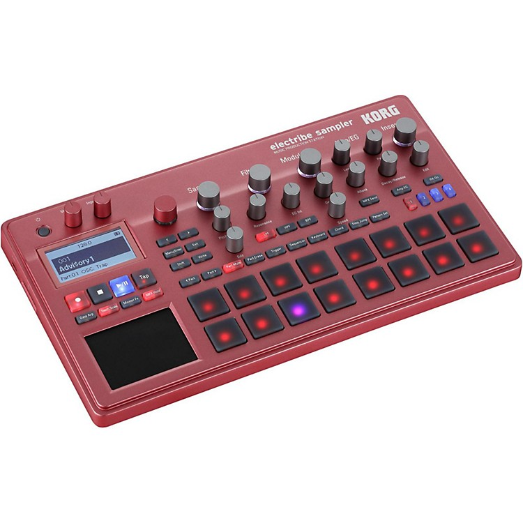 Korg Electribe Sampler with V2.0 Software ESX Red