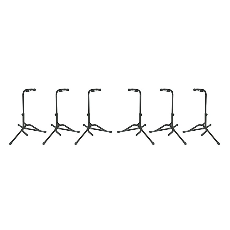 Musician's GearElectric, Acoustic and Bass Guitar Stands (6-Pack)