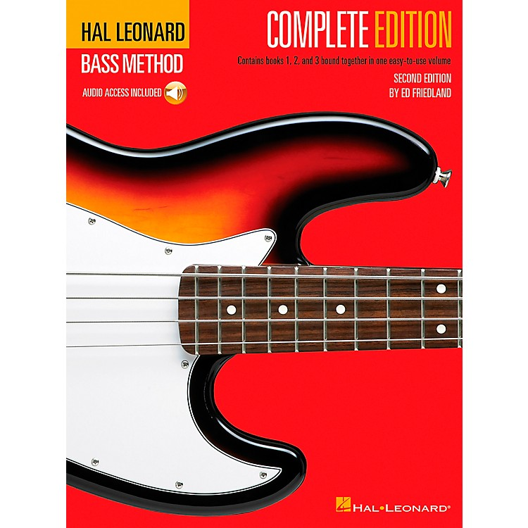 Hal Leonard Electric Bass Method - Second Edition (Book/CD)