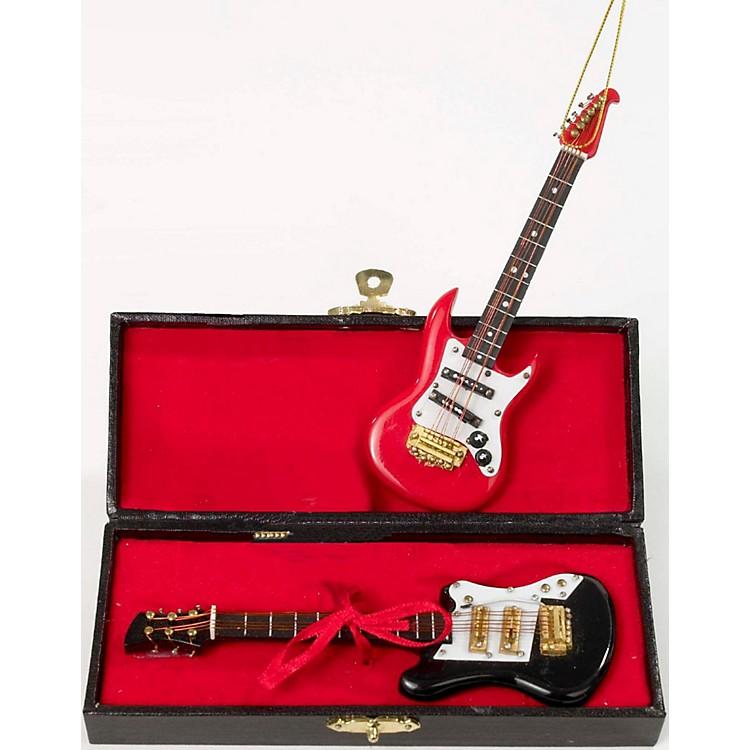 Kurt S. AdlerElectric Guitar Ornament 2/Assortment