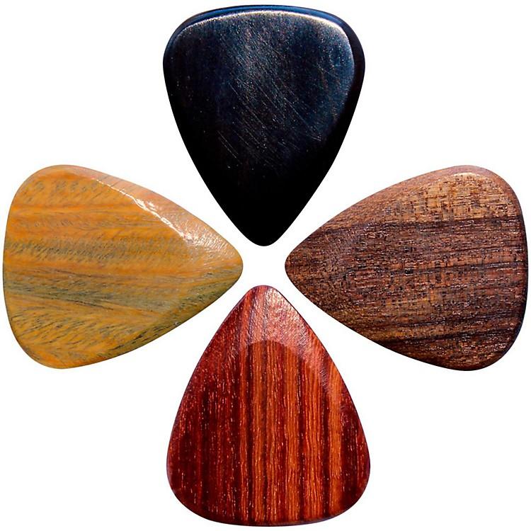 Timber TonesElectric Guitar Picks, 4-Pack