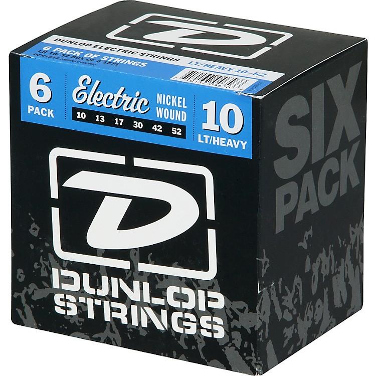 DunlopElectric Guitar Strings Light Top Heavy Bottom 6-Pack