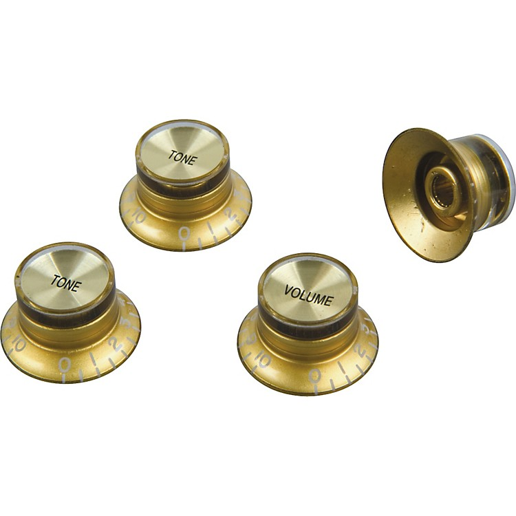 ProLine Electric Guitar Top Hat Style Knobs 4-Pack