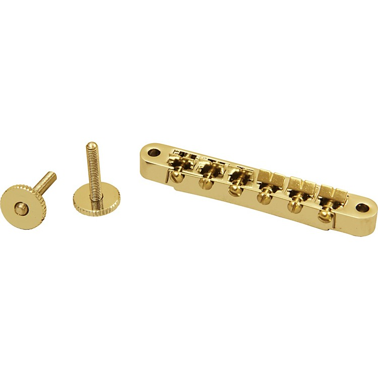 ProLine Electric Guitar Tune-o-matic Bridge Gold