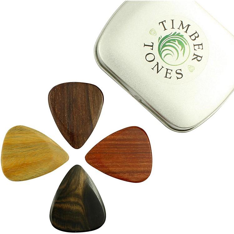 Timber TonesElectric Mixed Tin of 4 Guitar Picks